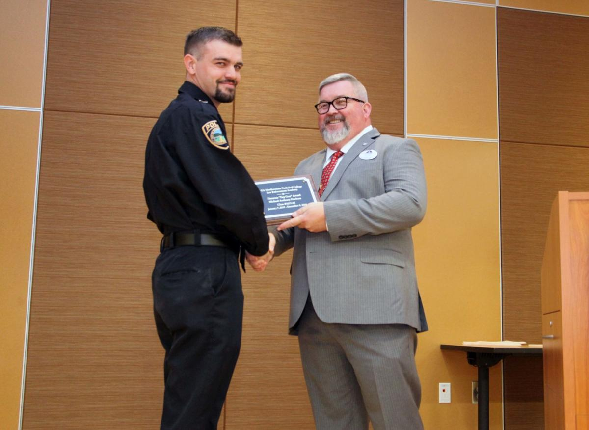 GNTC Law Enforcement Academy swears in new officers at graduation ceremony