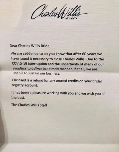 Charles Willis letter