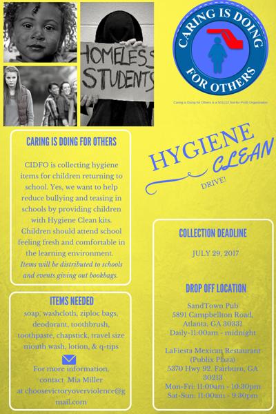 Hygiene drive