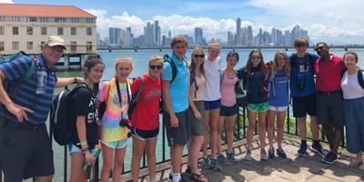 St. Martin's Panama group