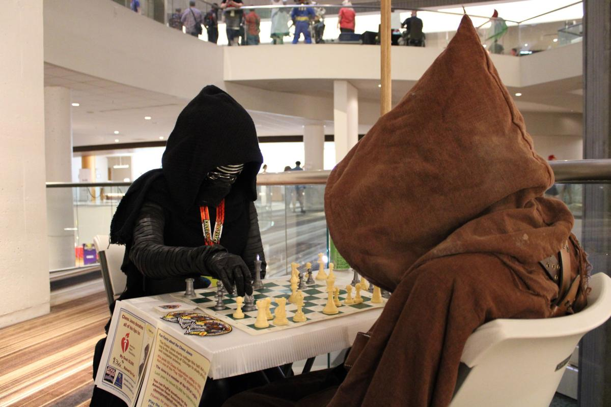Chess Jawa from Vinings raises money for charity at Dragon