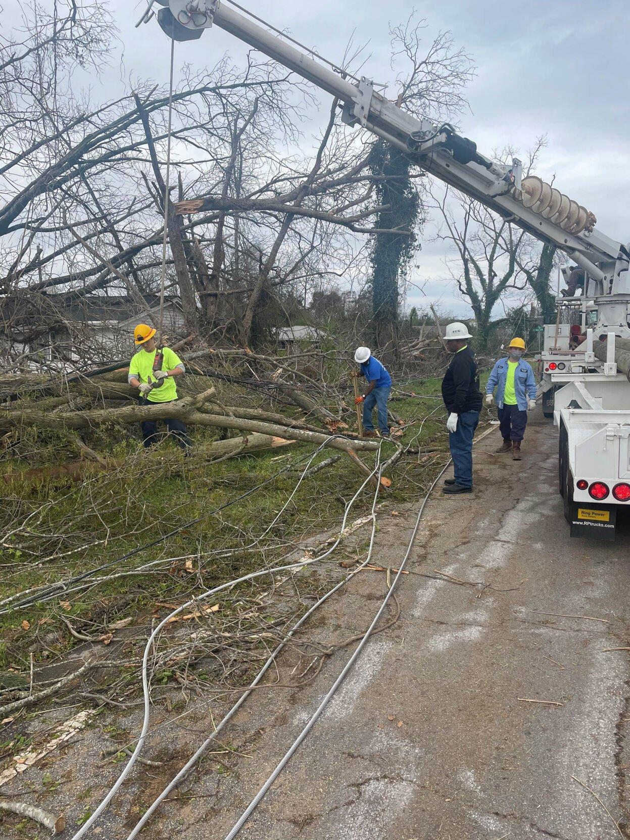 East Point Power crews