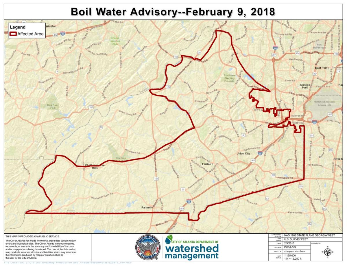 South Fulton Boil Water Advisory Map Neighbornewsonline Com
