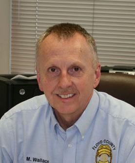 Floyd County Police Chief Mark Wallace
