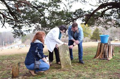 Students work to preserve historic cemetery