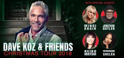 Dave Koz Christmas.Dave Koz Friends Christmas Tour Returns Nov 30