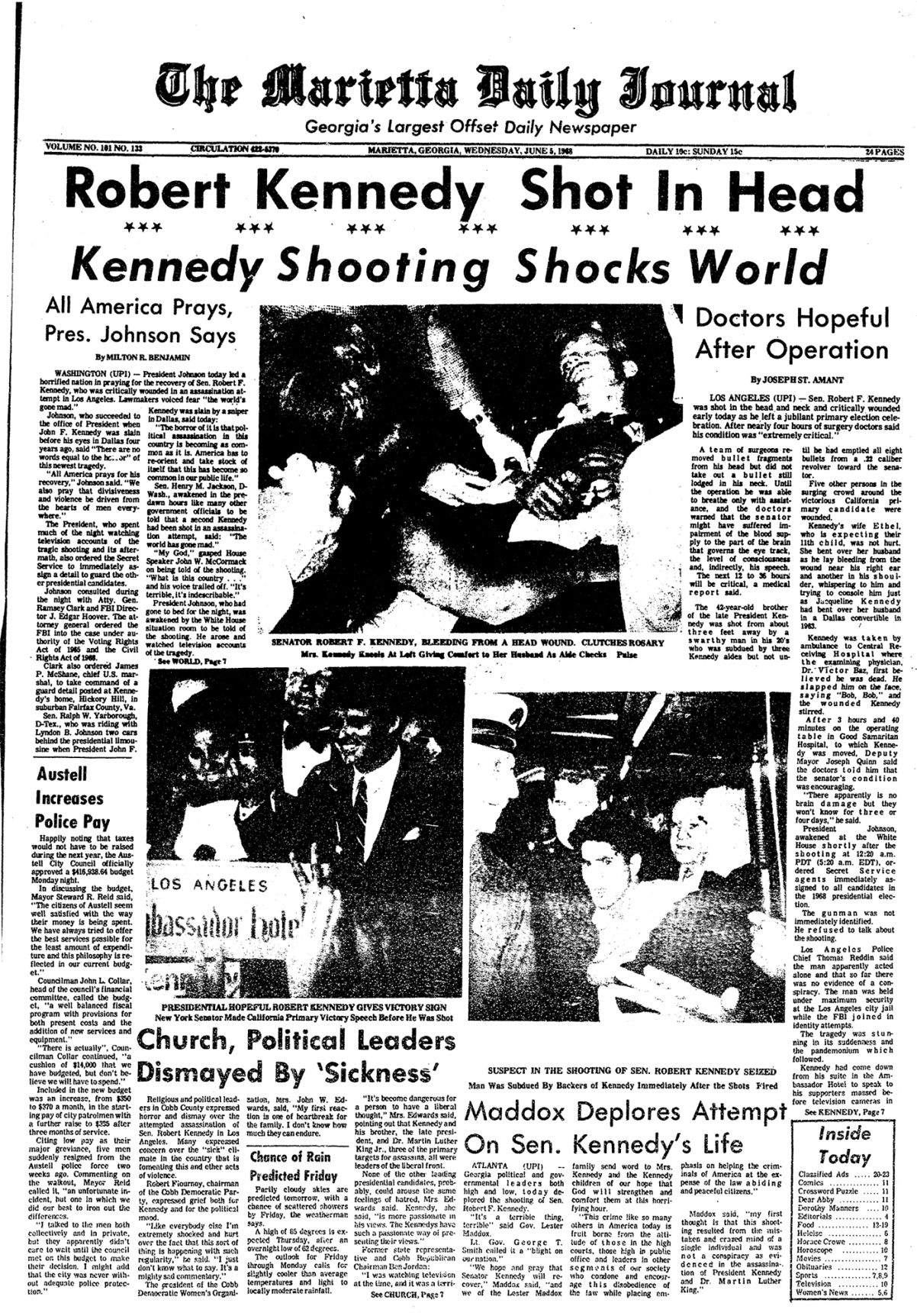 June 5, 1968 Page A1 Front - Time Capsule.jpg