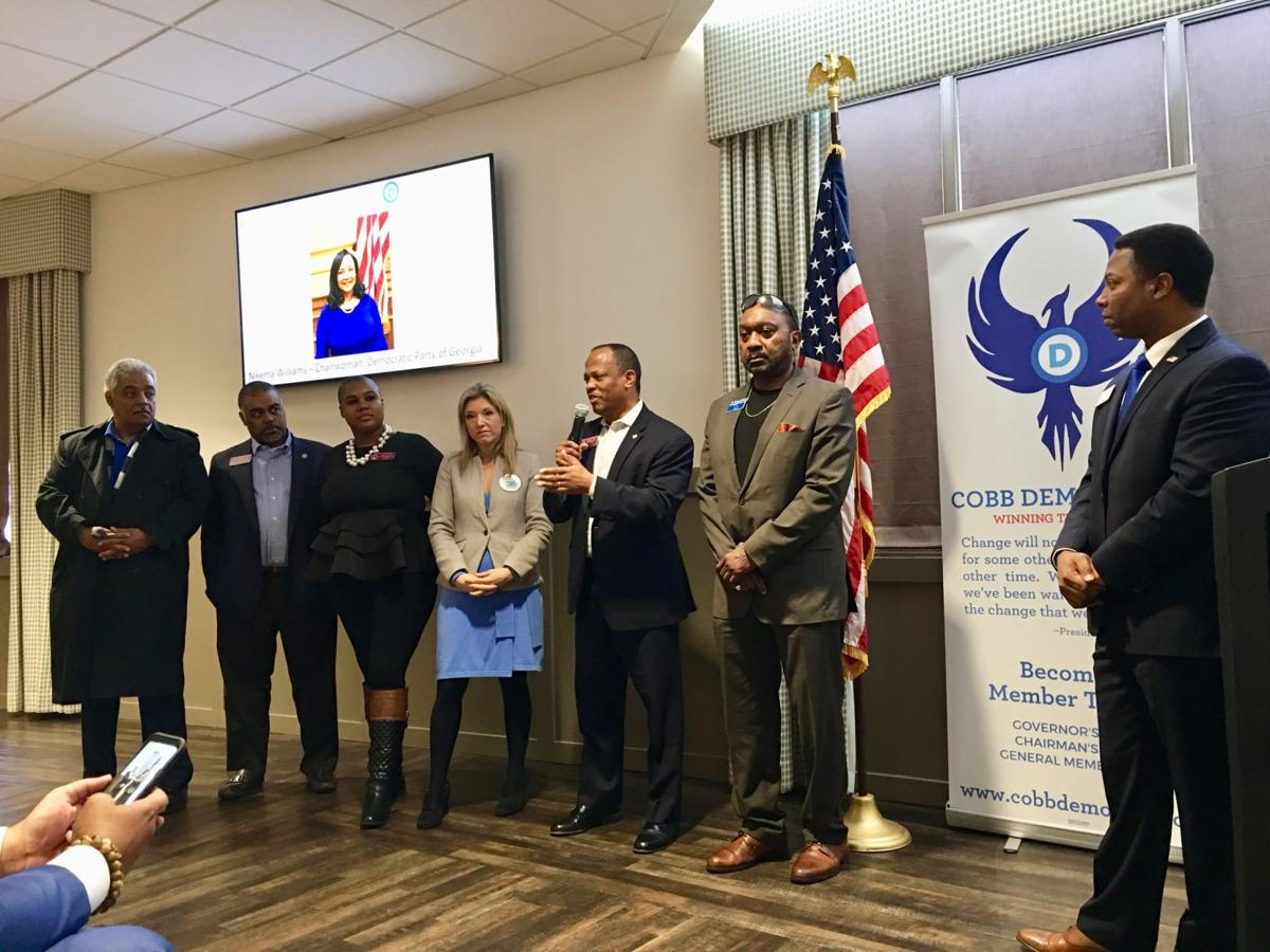 Dems stands with Wilkerson