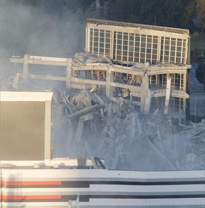 Georgia Dome Remains >> Second Implosion Planned For Georgia Dome Remains News Mdjonline Com