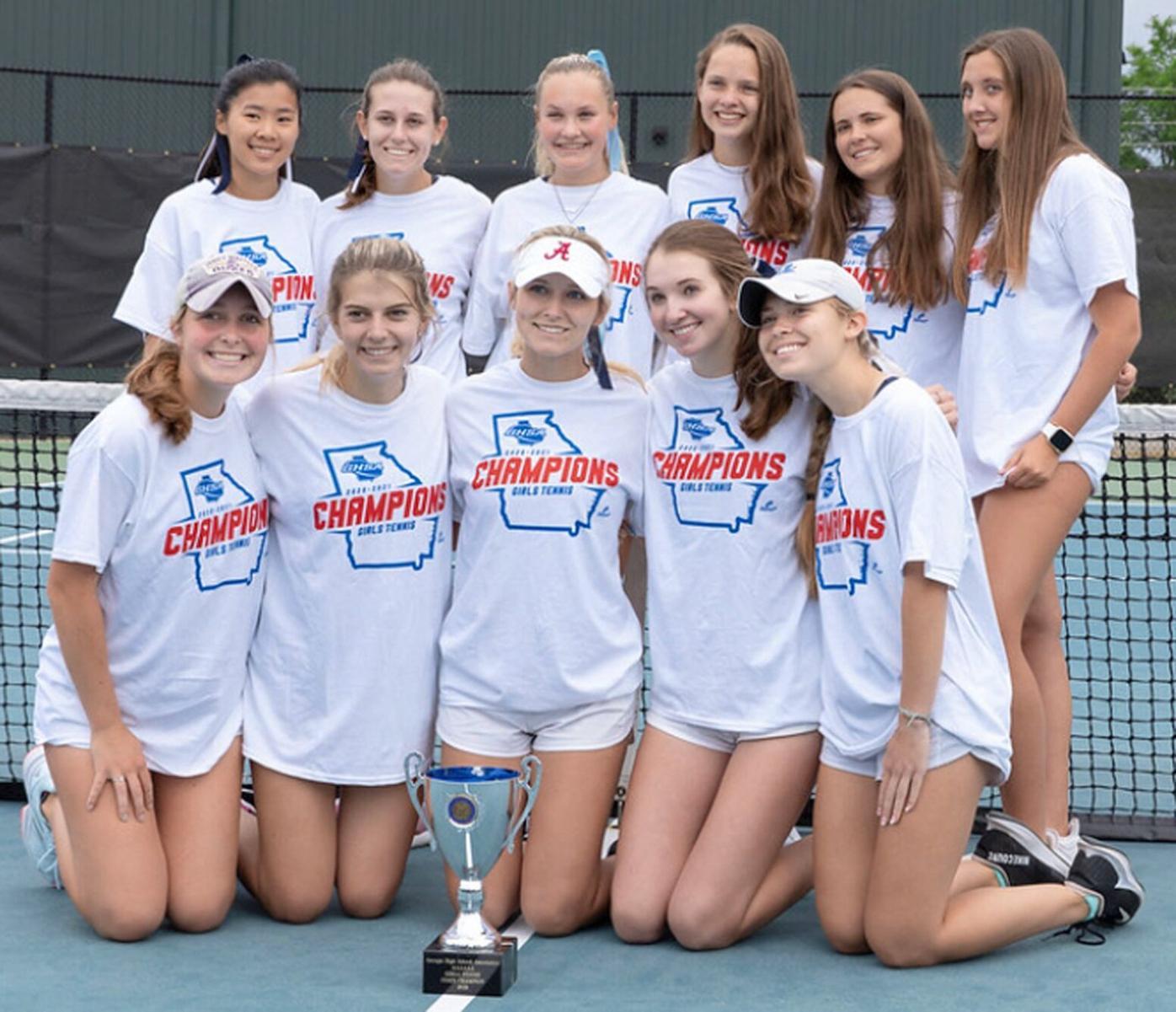 051921_MNS_state_tennis_007 Cambridge girls' tennis team group