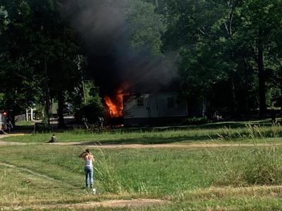 Structure fire in Cedartown - May 22, 2019