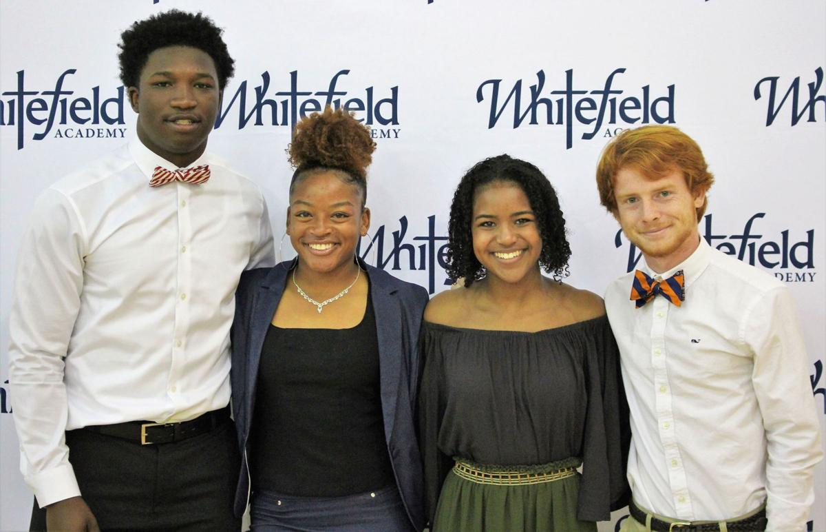 052919_MNS_full_Whitefield_signees_001 Kyle Holt Amilya Little Emilie Grand'Pierre Zachary Justice