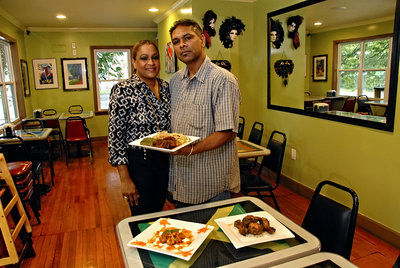 A taste of Authenticity: Tassa Roti offers Caribbean flavors