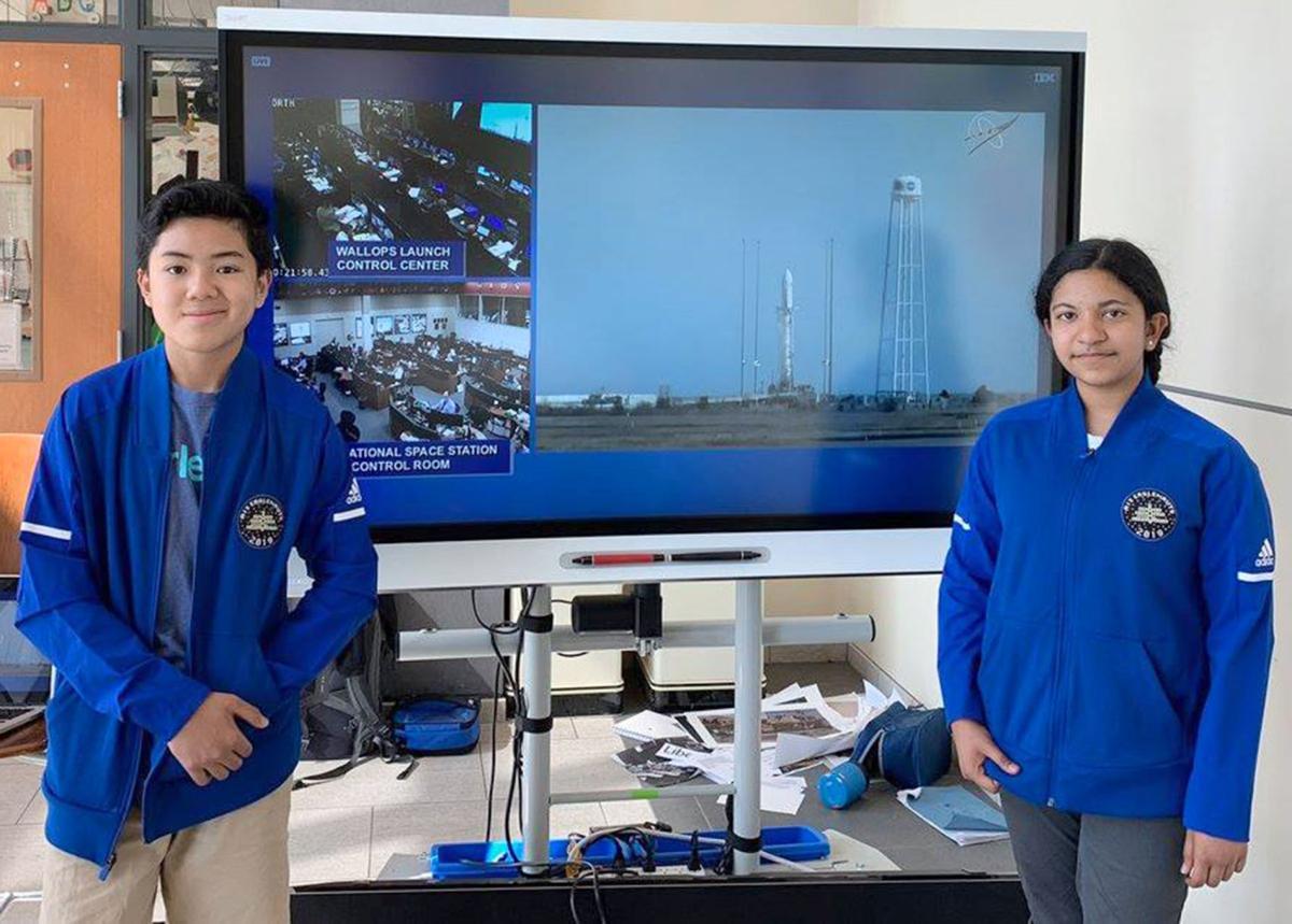 050119_MNS_AIS_launch_002 Jack Yamaato Nandana Avasarala