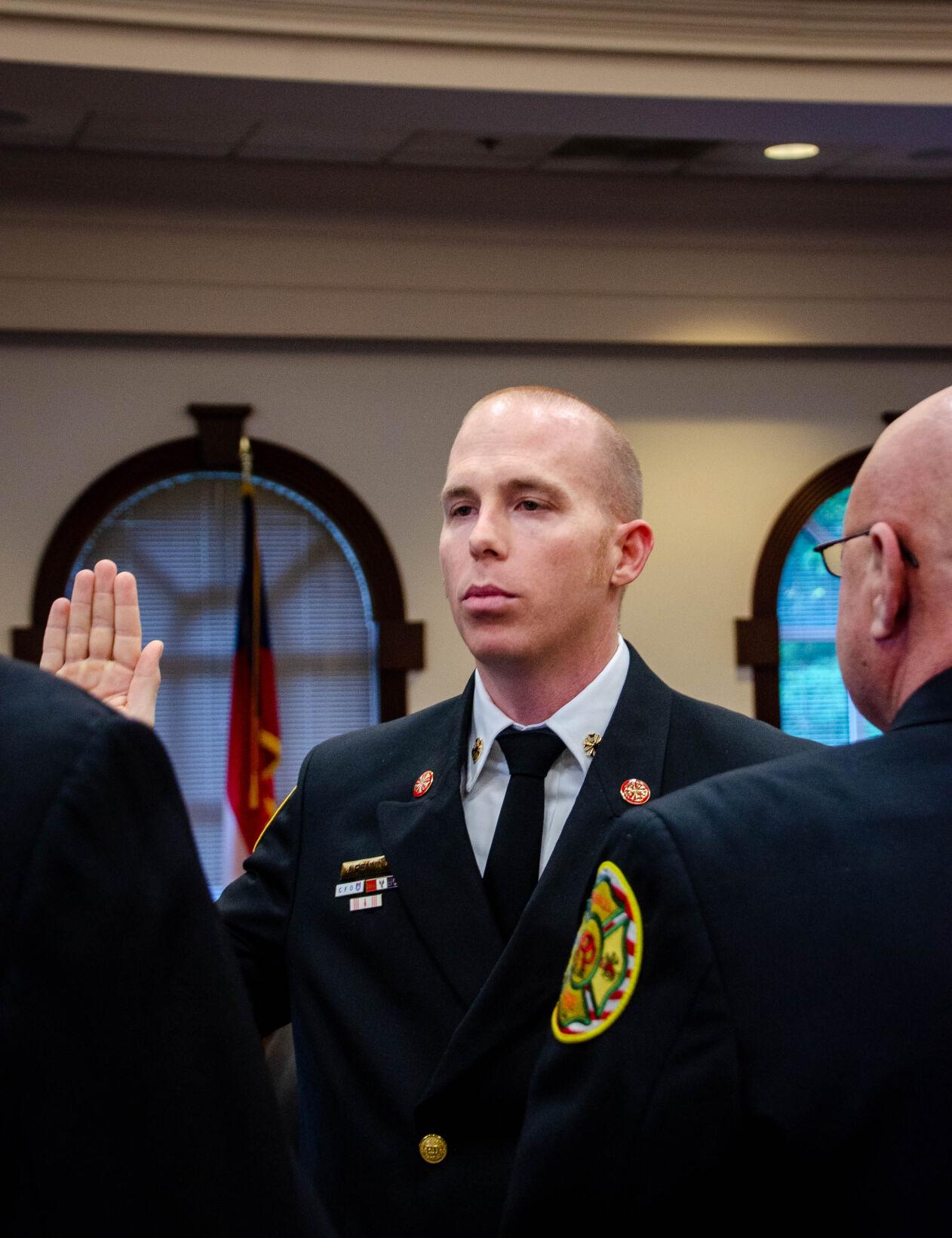 Joe Pennino Sworn In