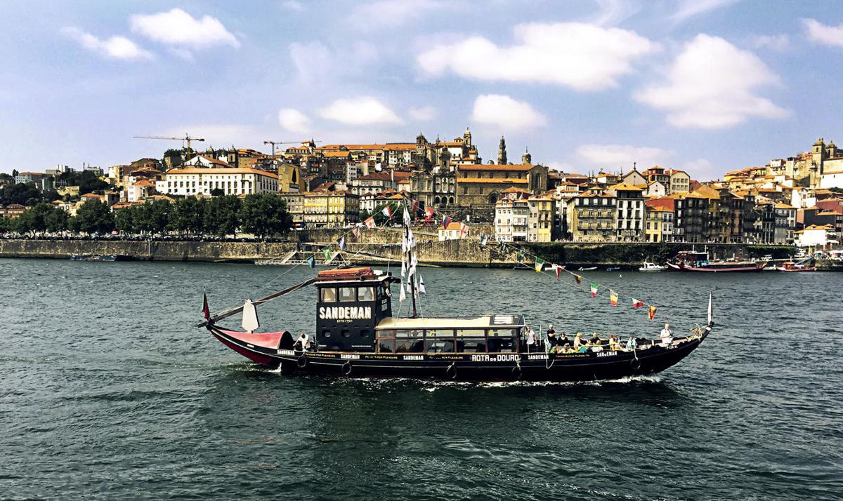 On the Douro. (Special Photo)