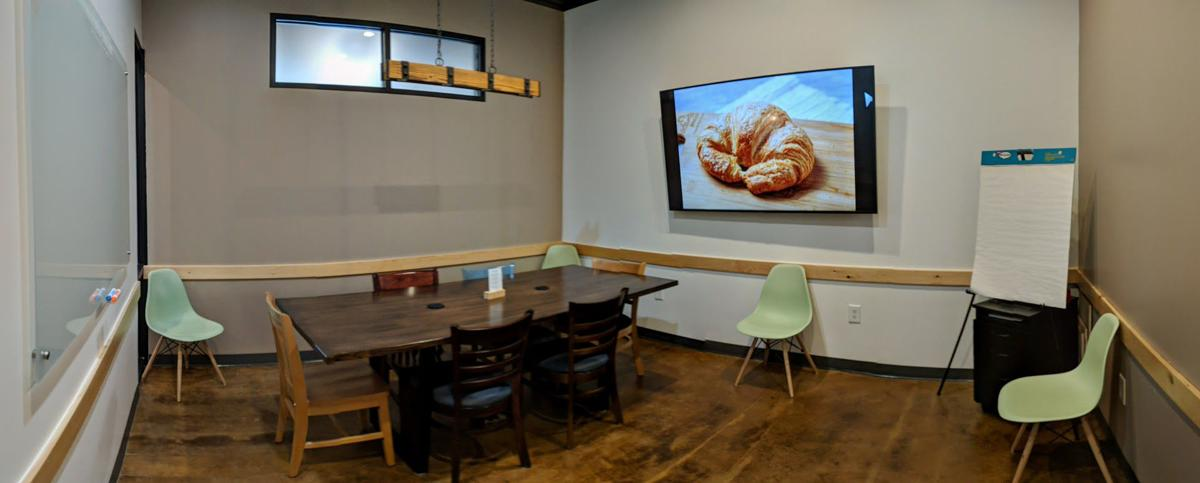 atlanta bread unveils new conference rooms décor updates at south