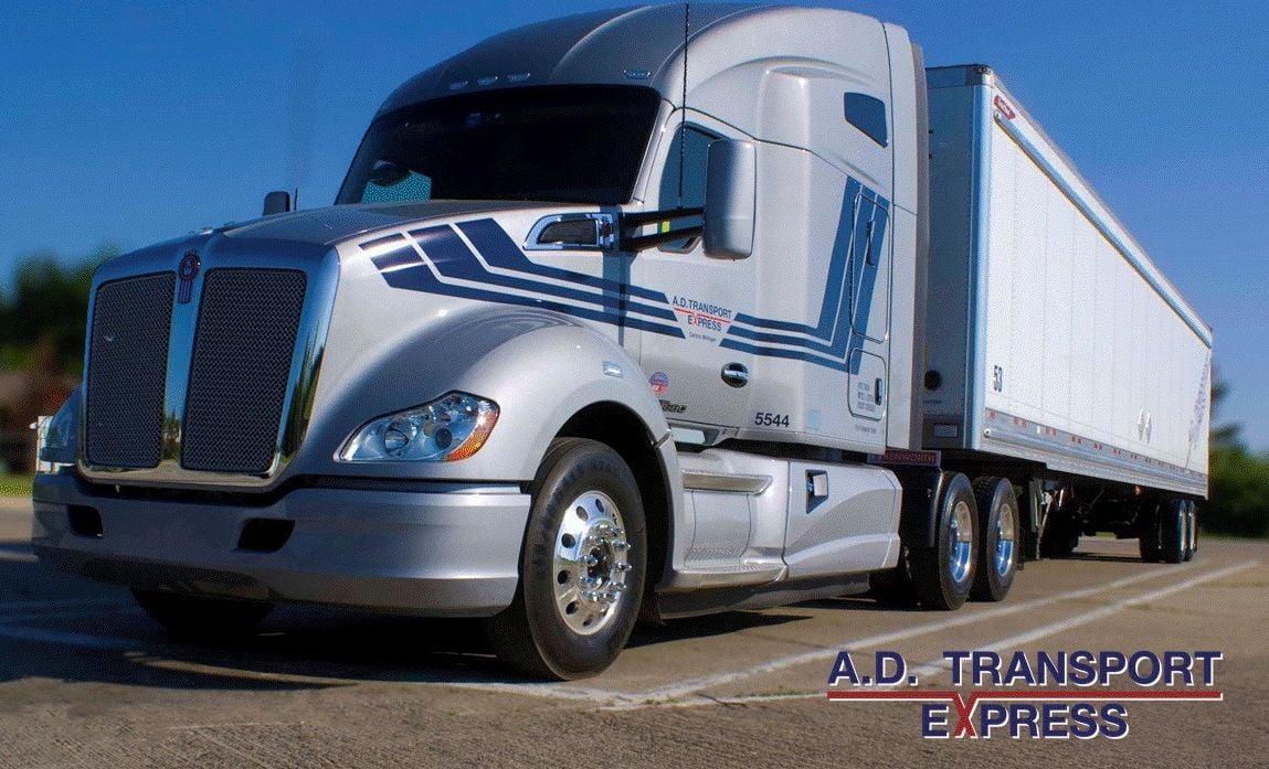 A.D. Transport Express truck