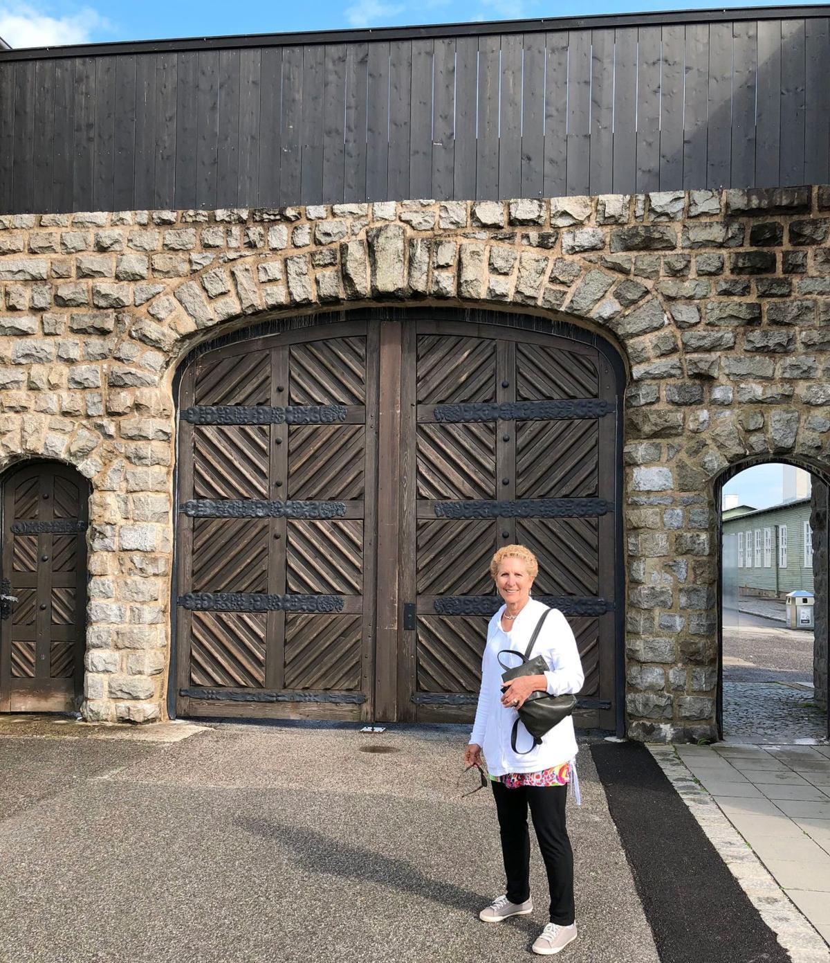 081419_MNS_Schancupp_Holocaust_001 Judy Schancupp at Mauthausen