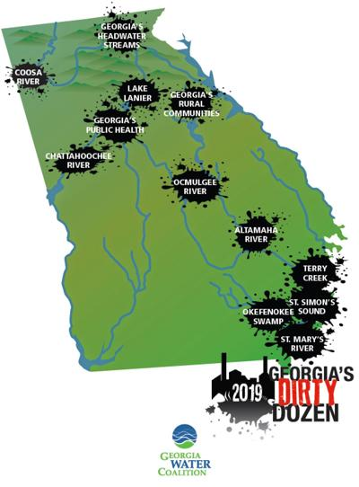 Plant Hammond named among the Georgia Water Coalition's 'Dirty Dozen'