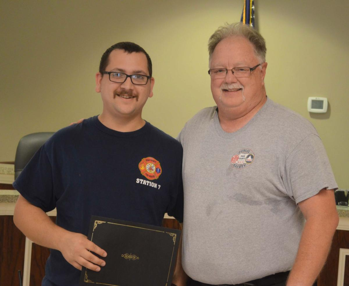 Polk County Commission June 2019 employee longevity awards
