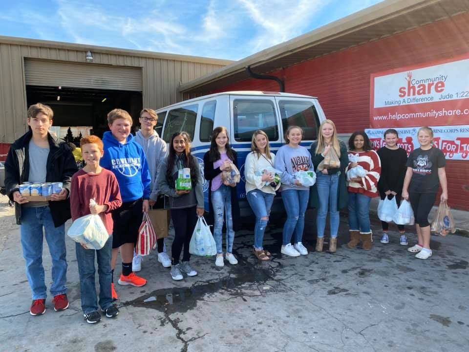 CCS students give back to the community