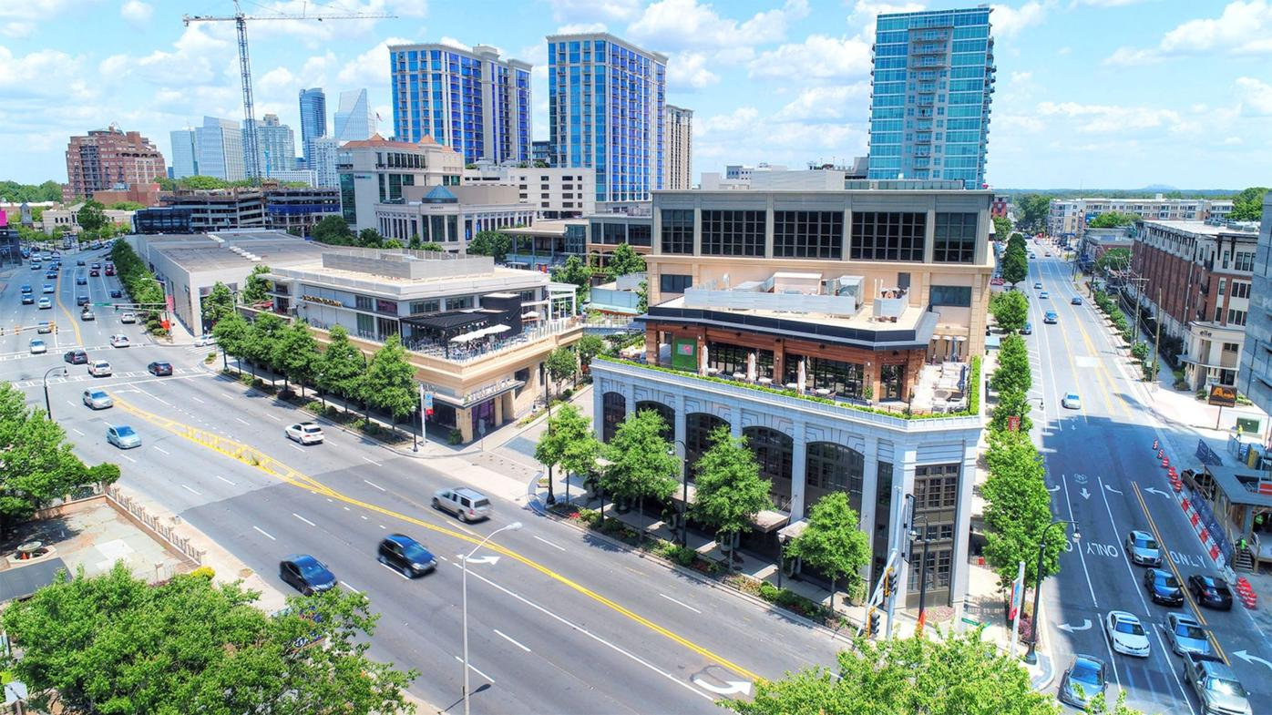 The Shops Buckhead Atlanta overview
