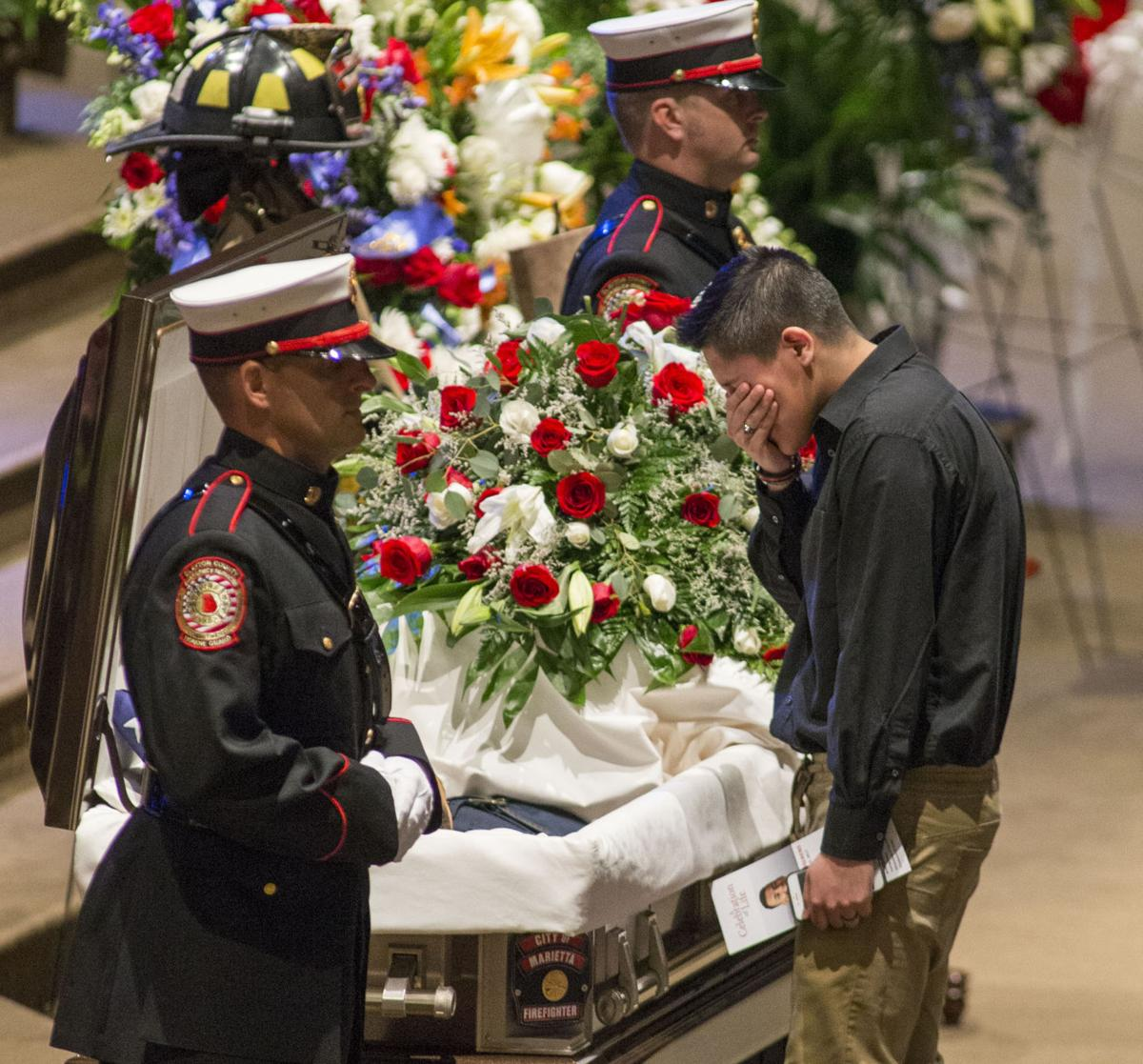 Bethel University Online >> Marietta Firefighter Ron C. Herens Celebrated and Laid to Rest Wednesday. | Multimedia ...