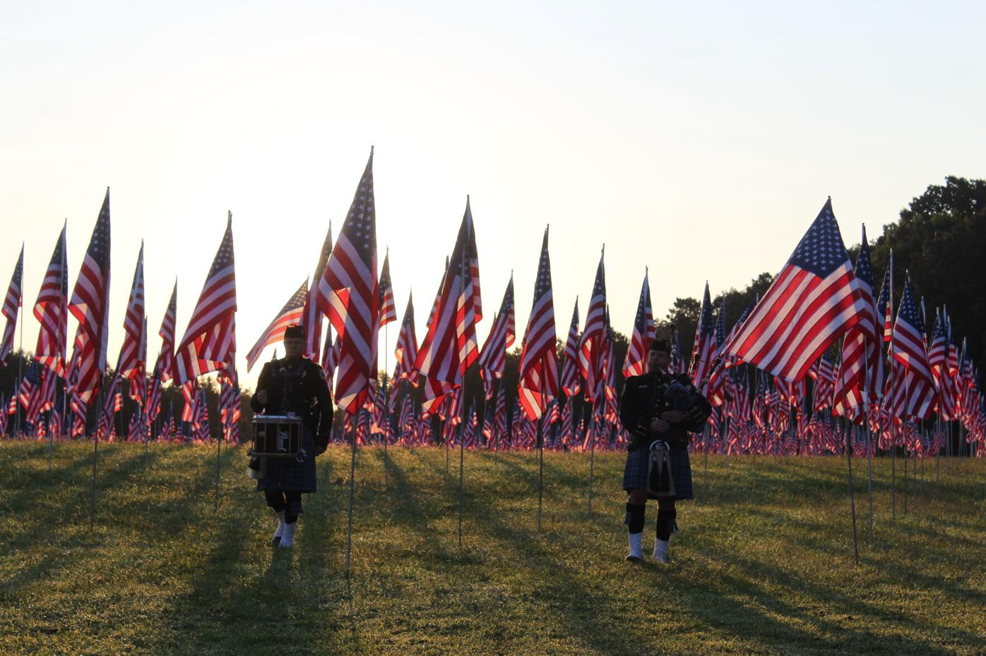 Field of Flags service, 2021
