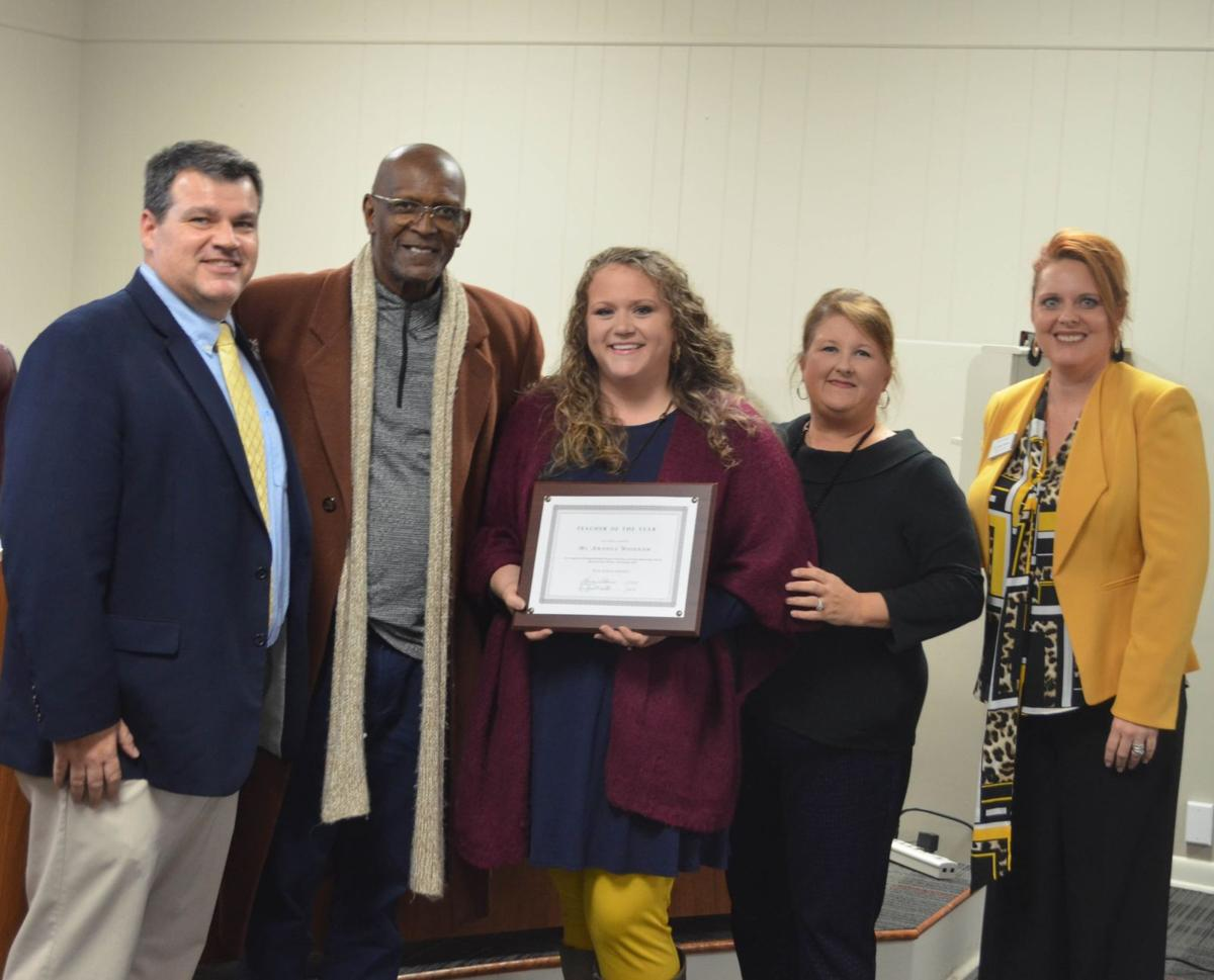 Woodham named PSD Teacher of the Year