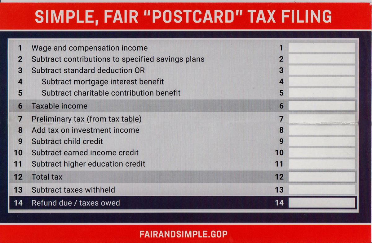 Is this your future tax form?   News   mdjonline com