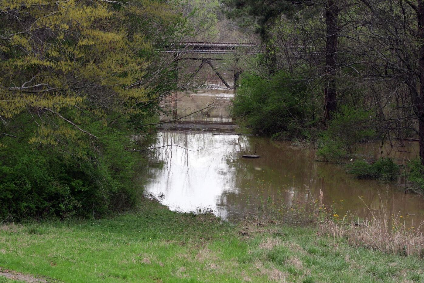 Norfolk Southern Railroad trestle