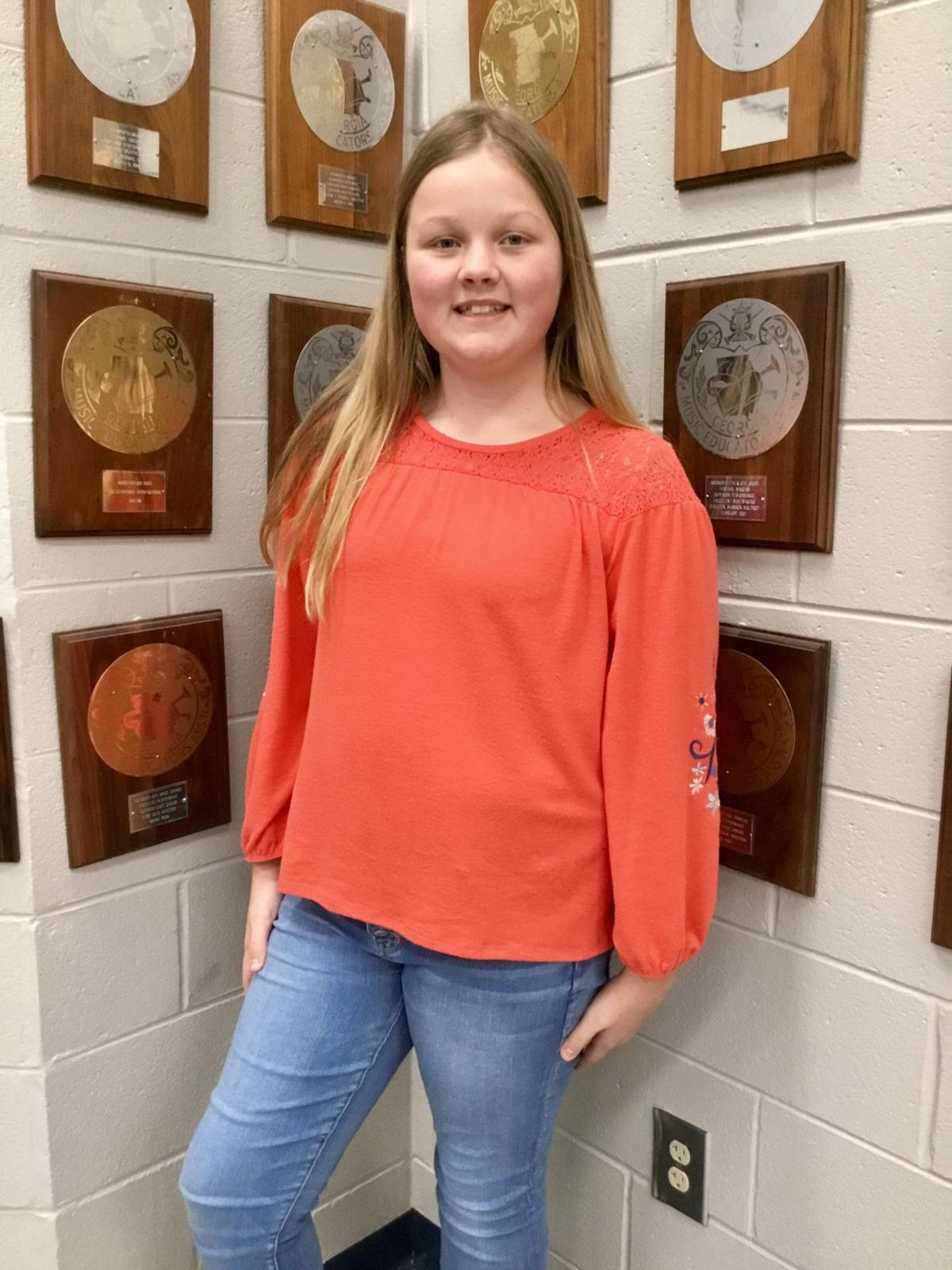 AMS All State Chorus 6th girl