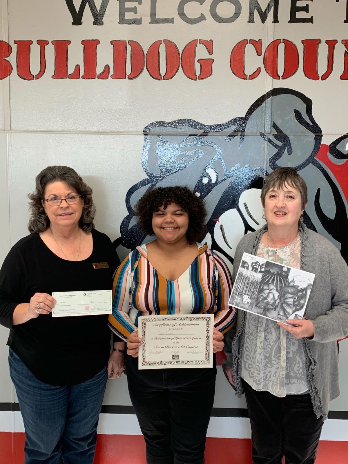 Polk County Farm Bureau Art Contest 2019