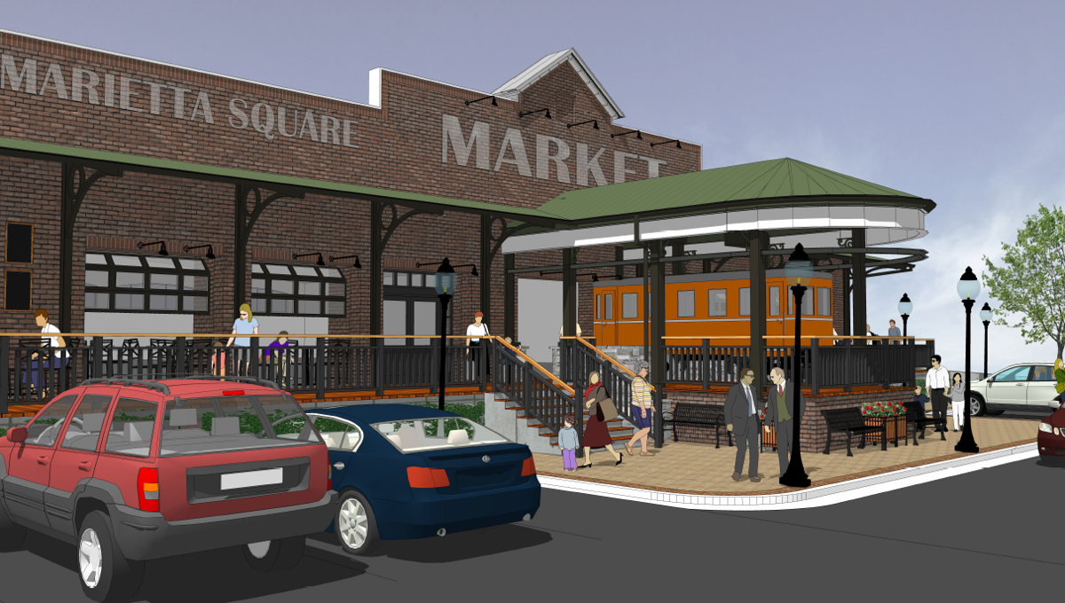 Marietta Square Market Food Hall
