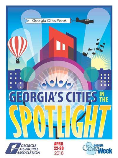 Georgia Cities Week poster 2018