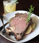 Wasabi Crusted Prime Rib Roast from Cafe 33.