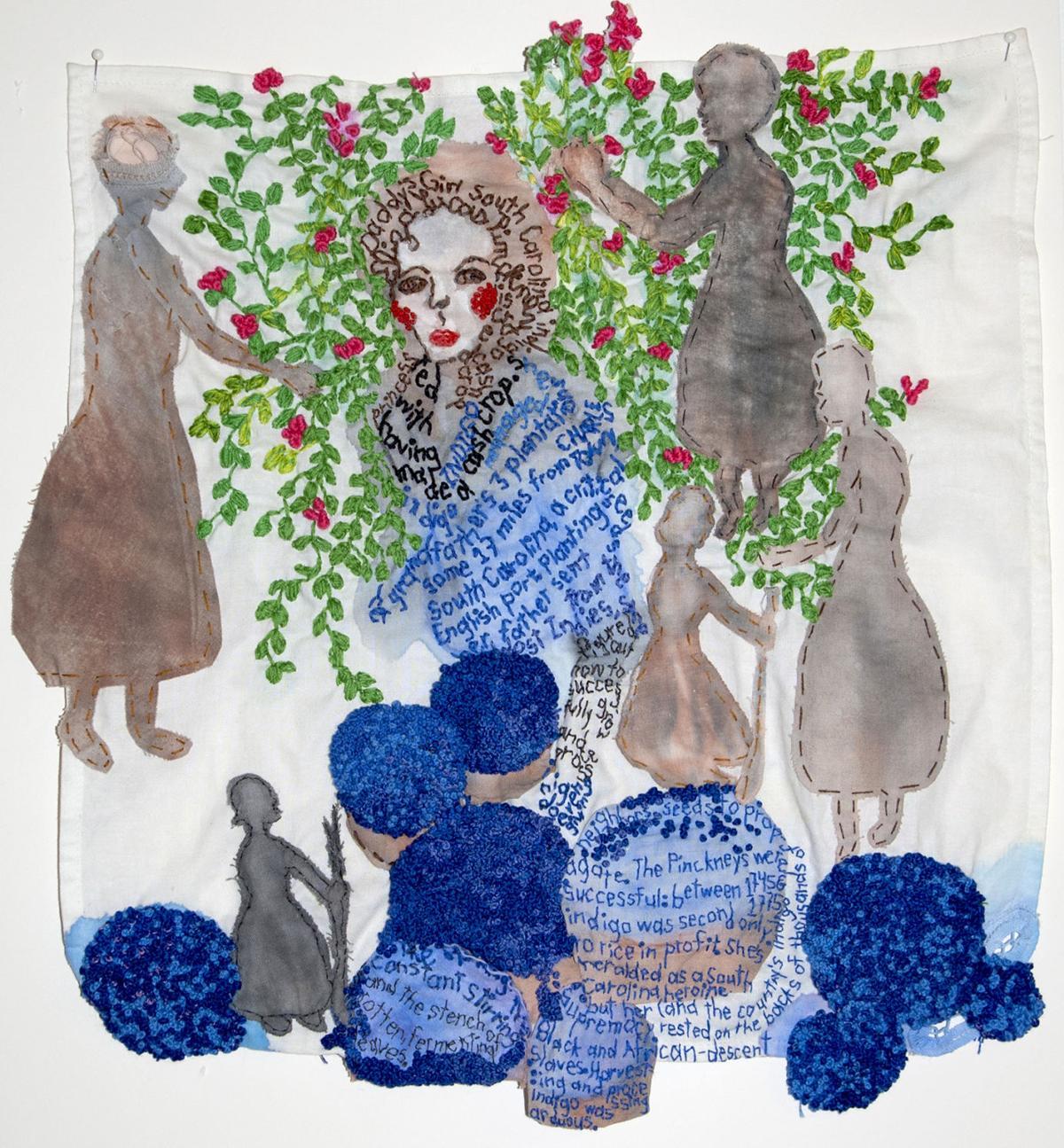 Craftivism 2 Iviva Olenick Eliza Lucas Pinckney quilt