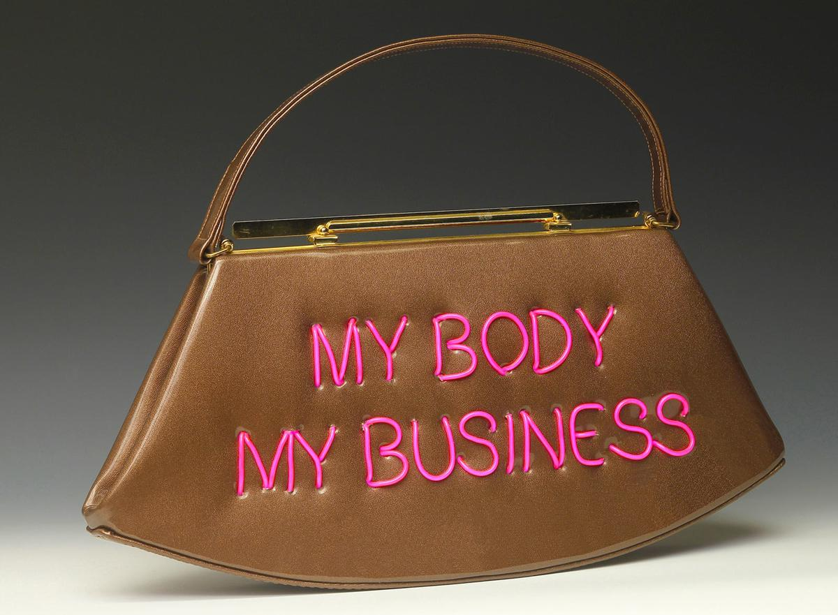 Craftivism 1 Michele Pred My Body My Business