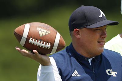 Georgia Tech Collins Begins Football