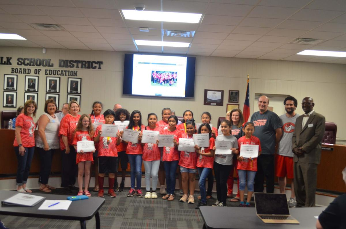 Northside students honored by Polk BoE