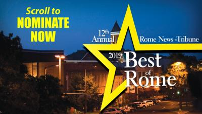 Nomination open today for Best of Rome awards | Georgia News