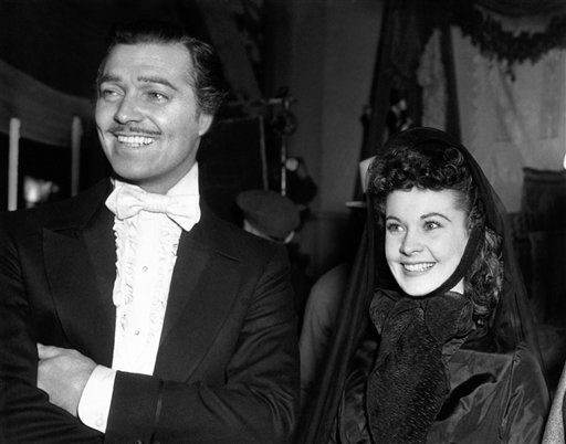 USA Clark Gable and Vivien Leigh
