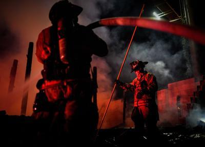 Summerour barn fire