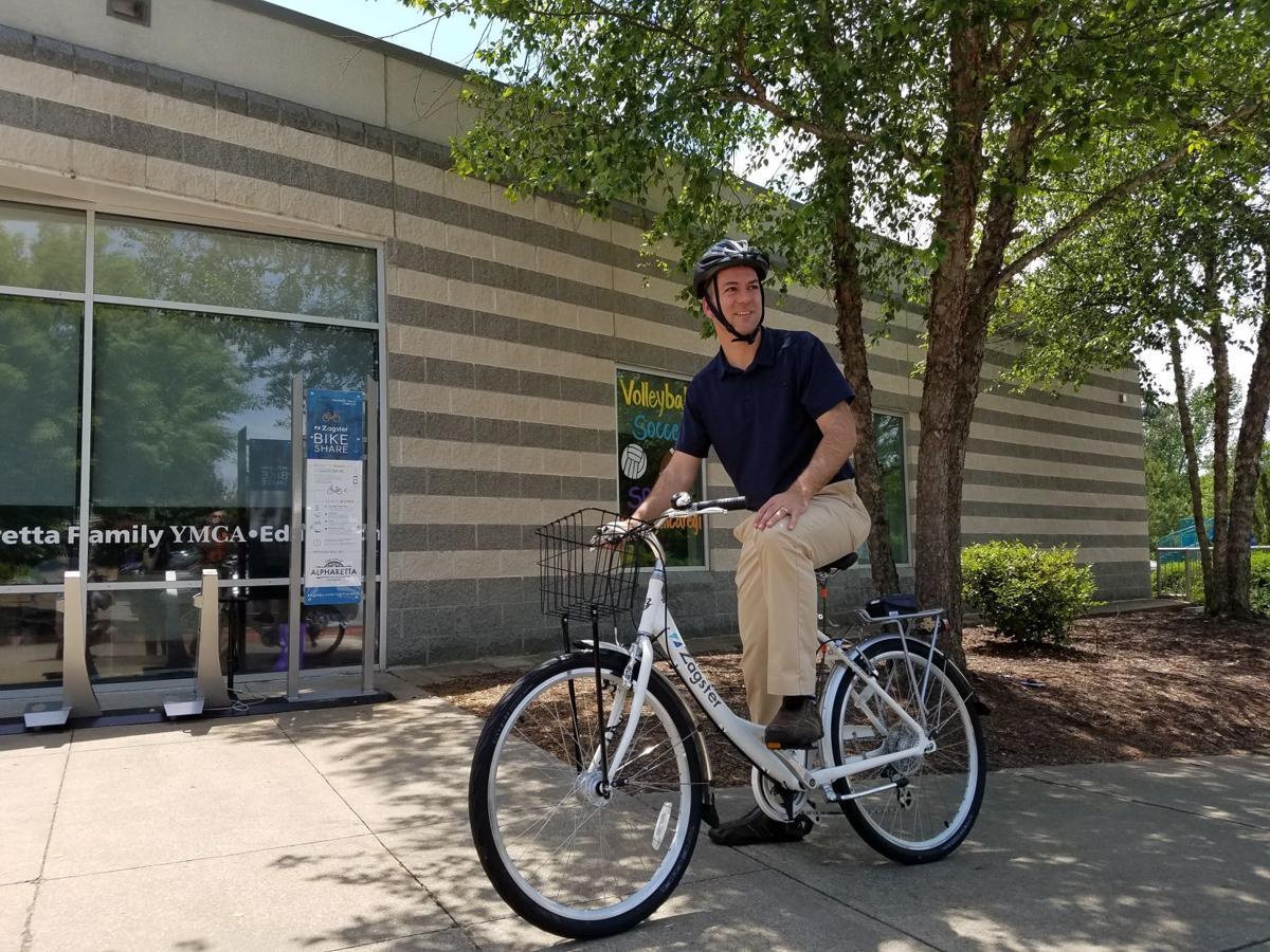 Alpharetta Rolls Out Bike Share Program Neighbornewsonline Com
