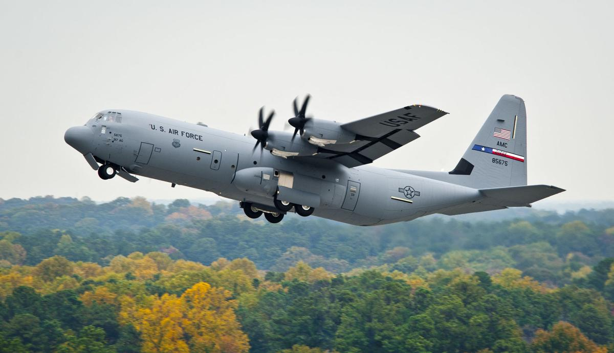 MP11-1299 BG Jon Fago C-130J 5675 delivery Dyess 85675 10-28-11