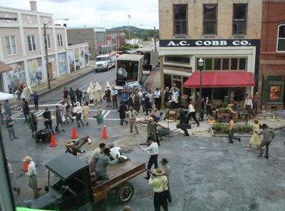 'Watchmen' episode shown on HBO featuring downtown Cedartown