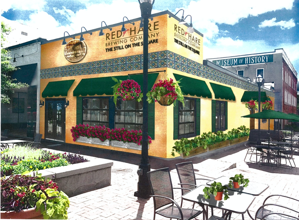 Red Hare @ Square rendering