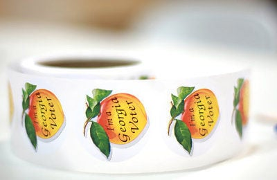 Georgia Voter Sticker stickers