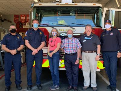 Appreciation Lunch for Cobb County Fire Station 15 Team